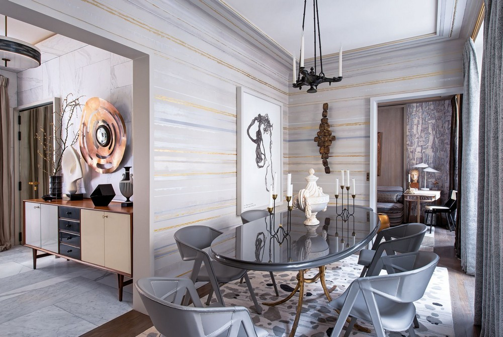 7 Modern Dining Room Ideas by Top Interior Designers modern dining room 7 Modern Dining Room Ideas by Top Interior Designers jean louis pinterest