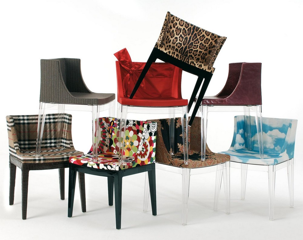 Comfort, Aesthetics and Practicality: Dining Chairs by Philippe Starck philippe starck Comfort, Aesthetics and Practicality: Dining Chairs by Philippe Starck kartell stuhl mademoiselle 1