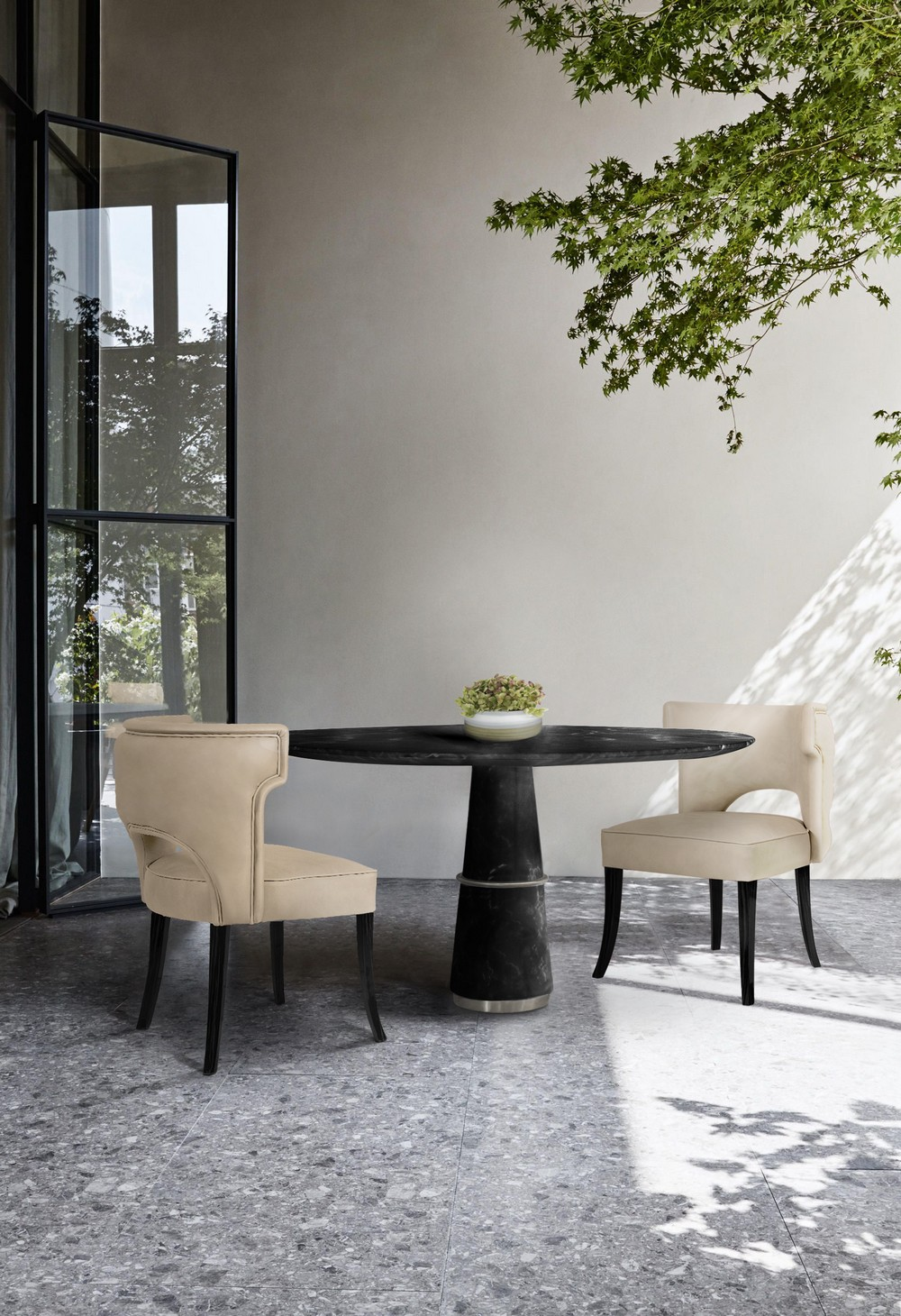 Interior Design Trends To Refine Your Dining Room in 2020 interior design trends Interior Design Trends To Refine Your Dining Room in 2020 neutrals