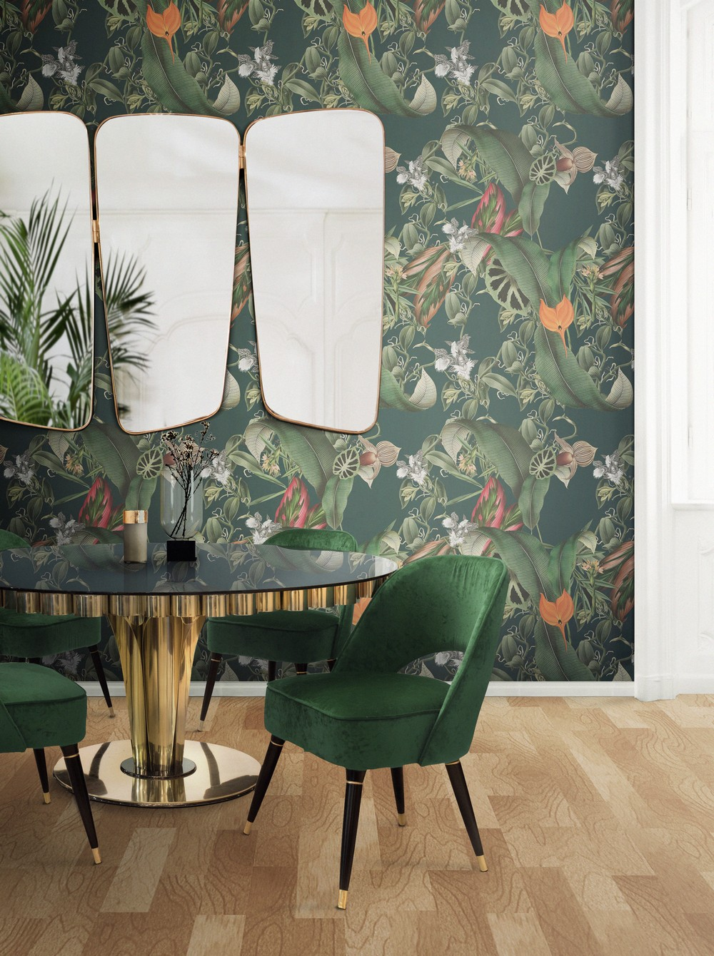 Interior Design Trends To Refine Your Dining Room in 2020 interior design trends Interior Design Trends To Refine Your Dining Room in 2020 tropical themes